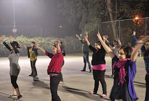 Delhi Flash Mob on December 3