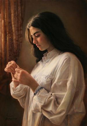 Beautiful Paintings of Iman Maleki