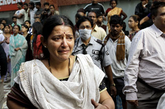 Fire in Kolkata Hospital kills 73 people