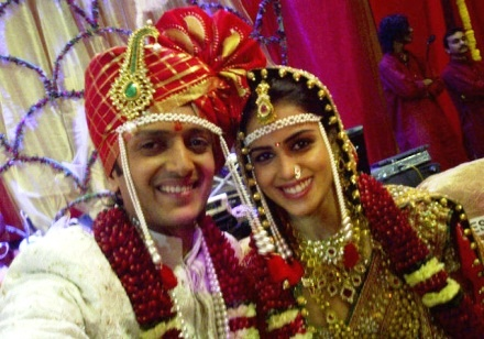 Riteish Deshmukh and Genelia Wedding Photos