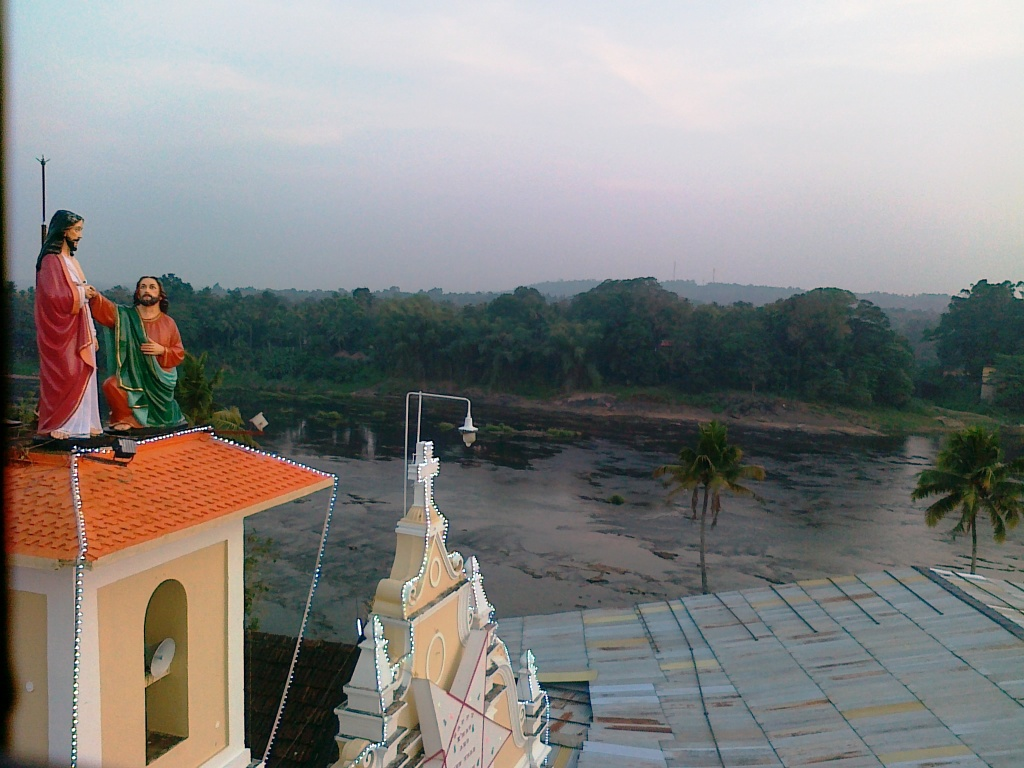 malayattoor-church-top-view